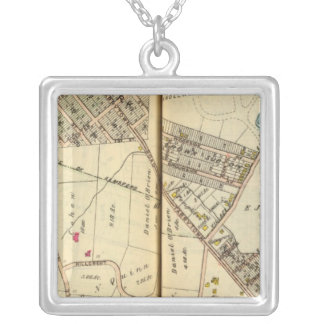 Greenburg, New York 8 Silver Plated Necklace