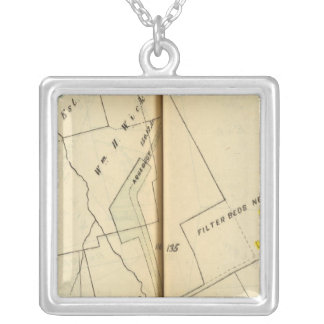Greenburg, New York 9 Silver Plated Necklace