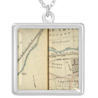 Greenburg, New York Silver Plated Necklace
