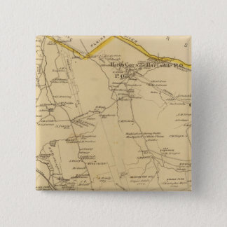 Greenburgh, New York 15 Cm Square Badge