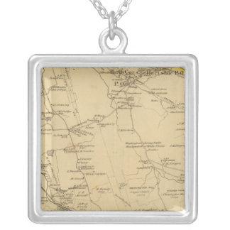 Greenburgh, New York Silver Plated Necklace