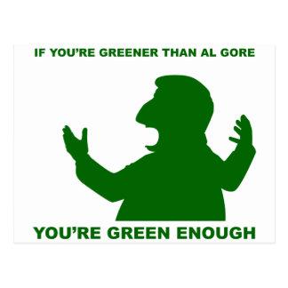 Greener than Gore Postcard