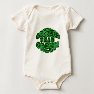 GREENER THAN GREEN fun green Baby T-Shirt