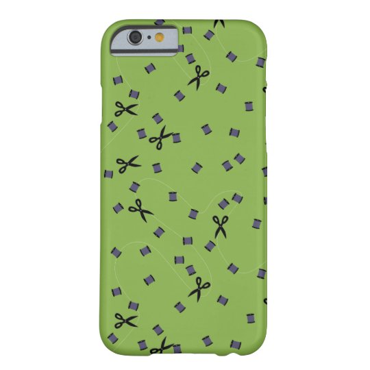 Greenery Sewing Notions iPhone Case