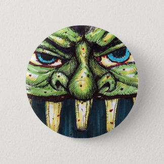 greenface 6 cm round badge