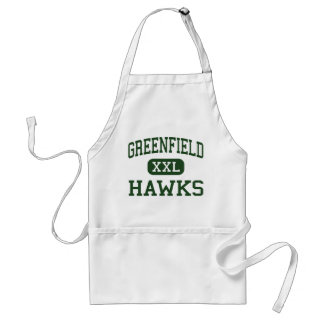 Greenfield - Hawks - High - Greenfield Wisconsin Adult Apron