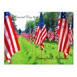 Greenfield Indiana, Memorial Day 2010 Postcards
