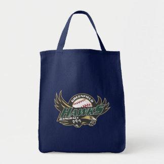 Greenfield Jr Hawk Spirit Wear Tote Bag