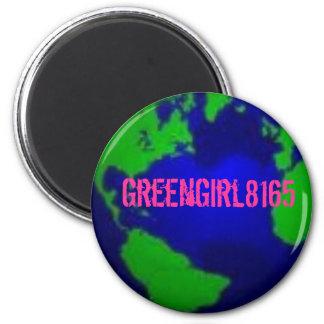 GreenGirl8165 ID magnet