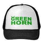 greenhorn trucker caps