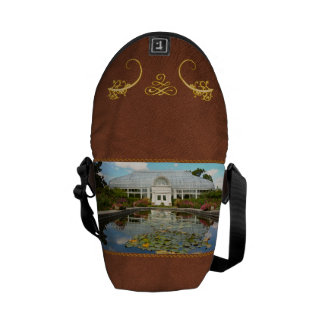 Greenhouse - The conservatory Courier Bag