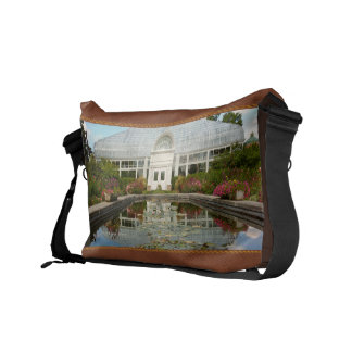 Greenhouse - The conservatory Courier Bags