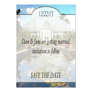 Greenhouse - The conservatory Magnetic Invitations