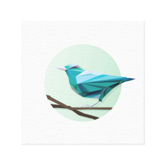 Greenie birdie gallery wrap canvas