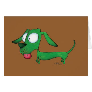 Greenie Weenie Card