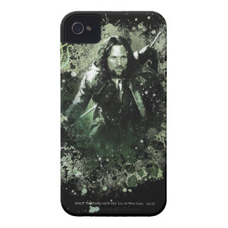 Greenish Aragorn Vector Collage iPhone 4 Case