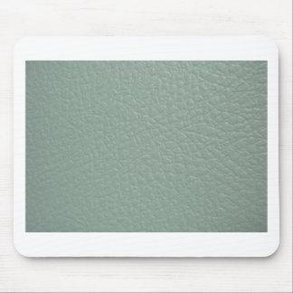 Greenish Grey Leather Look Finish Mousepad