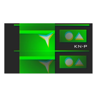 greenJoker 3D holographic BC Business Card