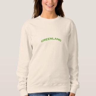 Greenland Arch Text Sweatshirt