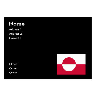 Greenland Business Card Template