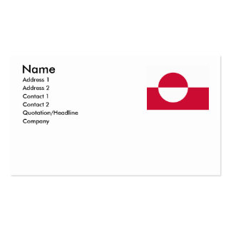 Greenland Business Card