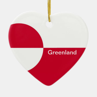 GREENLAND CERAMIC HEART DECORATION
