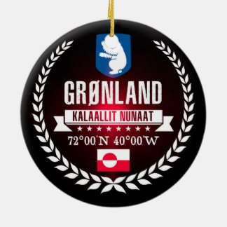 Greenland Christmas Ornament