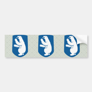 Greenland Coat of Arms detail Bumper Sticker