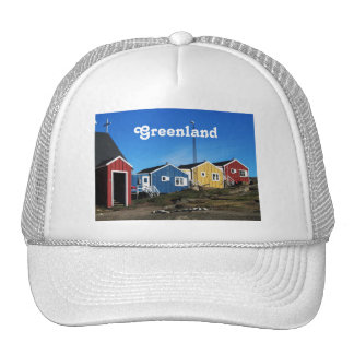 Greenland Countryside Mesh Hats
