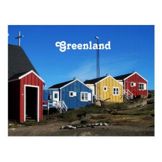 Greenland Countryside Postcard