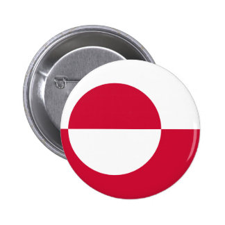 Greenland Flag Button
