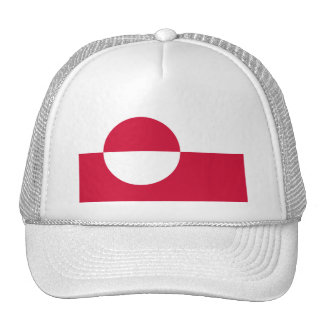 Greenland Flag GL Cap