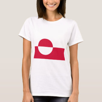 Greenland Flag GL T-Shirt