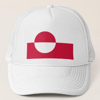 Greenland Flag GL Trucker Hat
