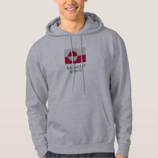 Greenland flag hoodie