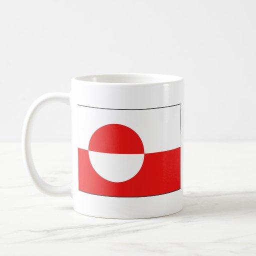 Greenland Flag ~ Map Mug