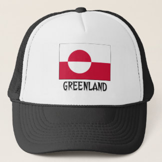 Greenland Flag Trucker Hat
