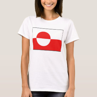 Greenland Flag x Map T-Shirt