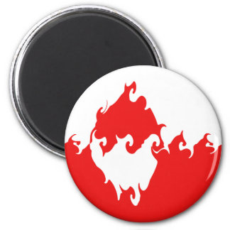Greenland Gnarly Flag Magnet