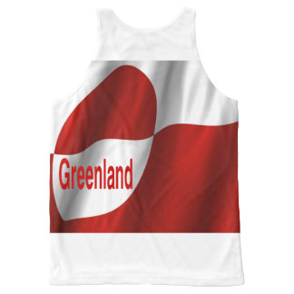 greenland All-Over print tank top