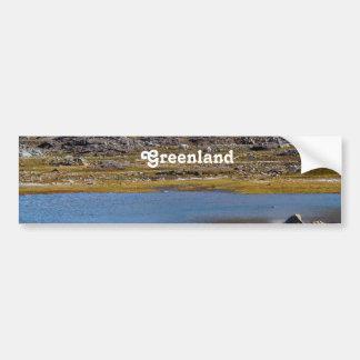 Greenland Landscape Bumper Sticker