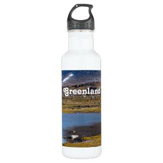Greenland Landscape 24oz Water Bottle