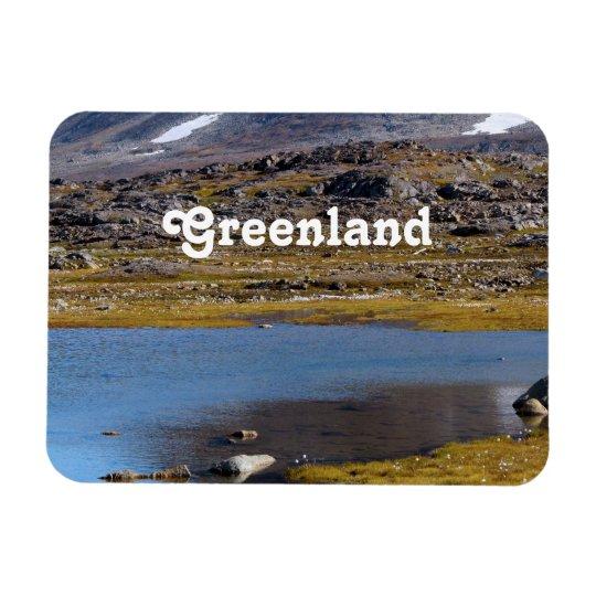 Greenland Landscape Rectangular Photo Magnet