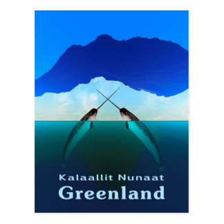 Greenland - Narwhal Postcard