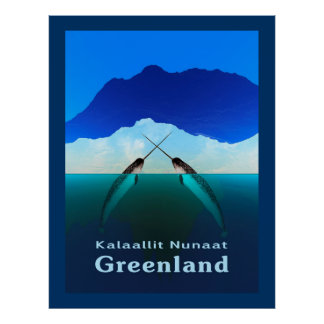 Greenland - Narwhal Posters