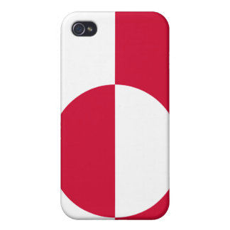Greenland National Nation Flag  Cases For iPhone 4