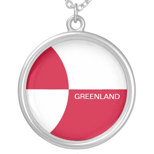 GREENLAND PERSONALIZED NECKLACE