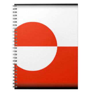 Greenland Spiral Note Book