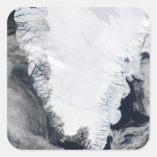 Greenland Square Sticker