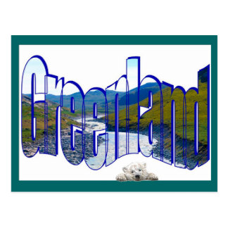 Greenland Top of the World Postcard